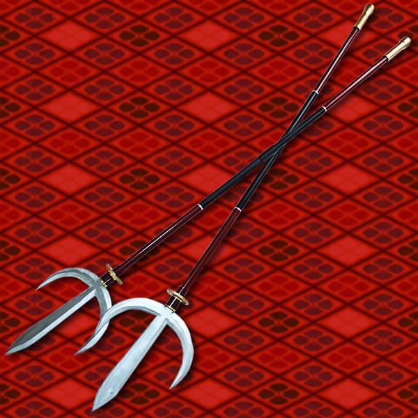 【コスプレ用小道具】戦国BASARA風 真田幸村 十文字槍 朱雀