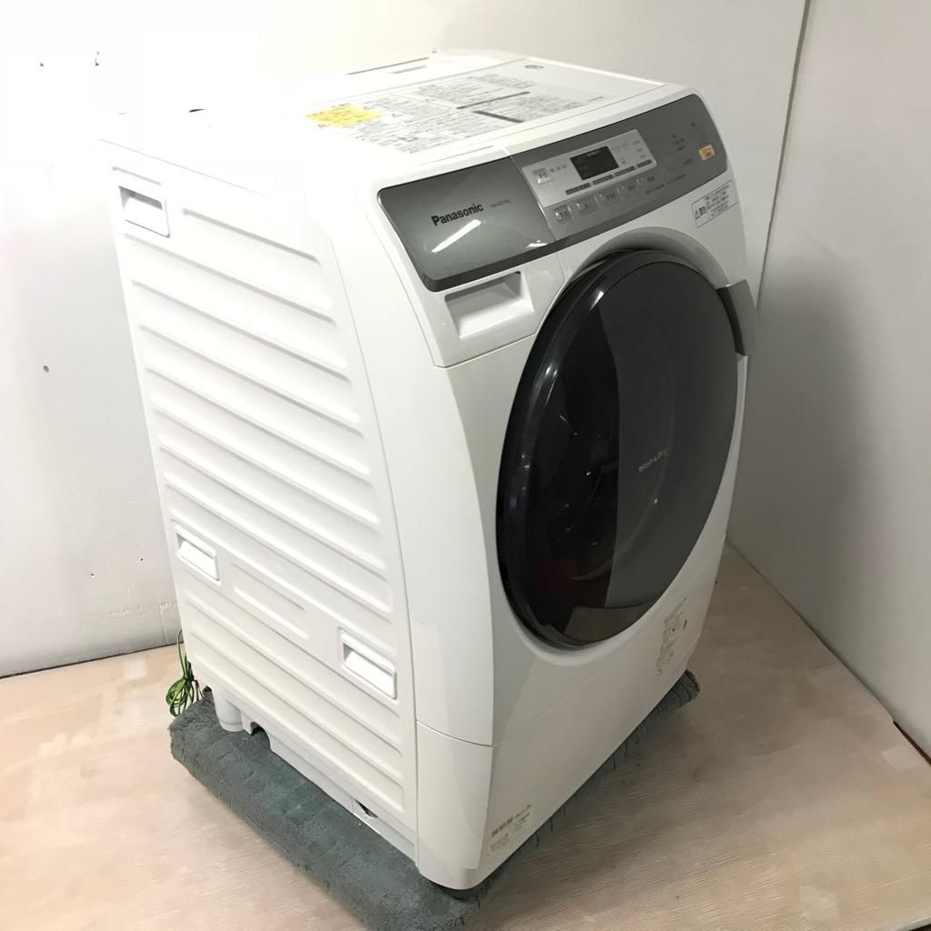 当店人気ドラム式洗濯機 洗濯6 0kg 乾燥3 0Kg パナソニック プチドラム NA VD100L 2011年製 ホワイト 左開き 3ヶ月保証付9YWDI2EH