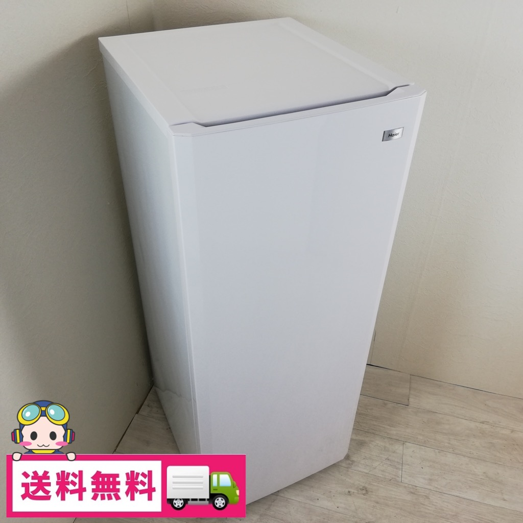 136L 冷凍庫 フリーザー ハイアール JF-NUF136E 2015年製 自動霜取りファン式 美品 :コスモスペース 店