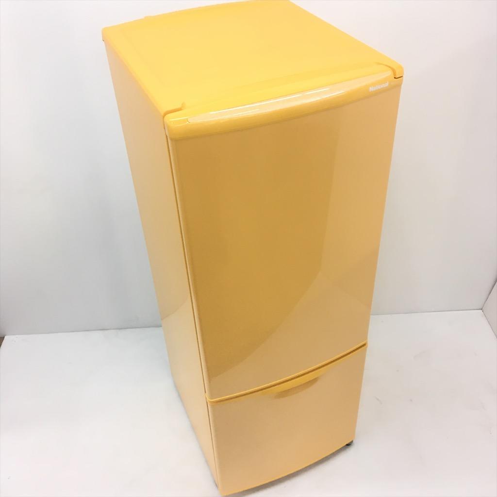 【超歓迎された】 162L 2ドア冷蔵庫 National ナショナル NR-B162J-D レトロ オレンジ 2004年製 美品 希少 送料無料 3ヶ月保証付, 北桑田郡 afc1b7cf