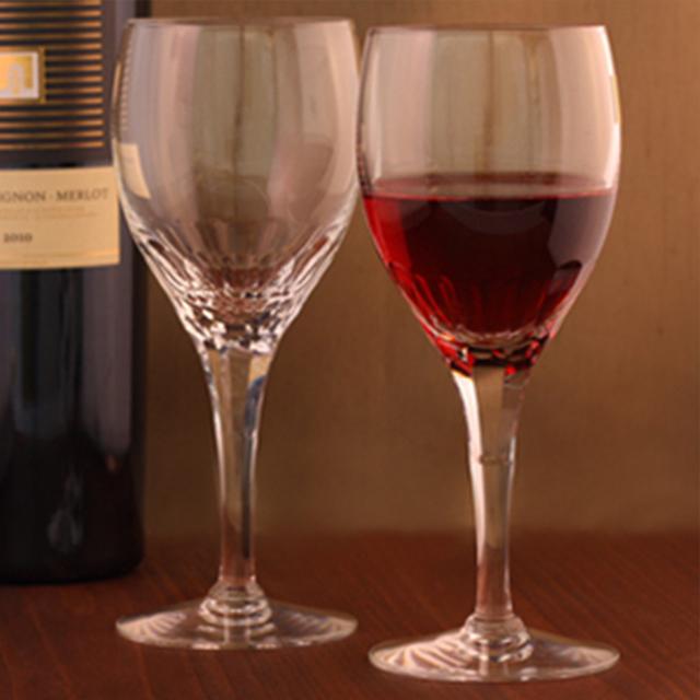 カガミクリスタル ペア白ワイングラス <エクラン> 240cc(KWP249-2533) ギフト