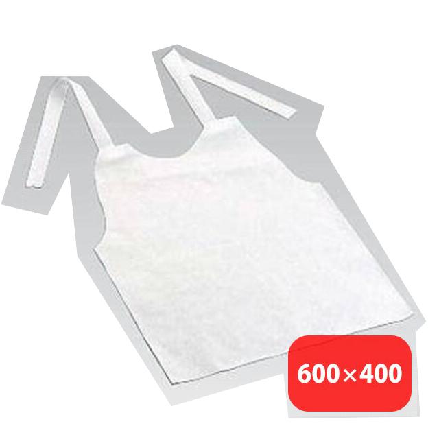 使いすて 紙エプロン(大人用) 1箱 (6-1332-0201) [店舗備品][消耗品][送料無料]