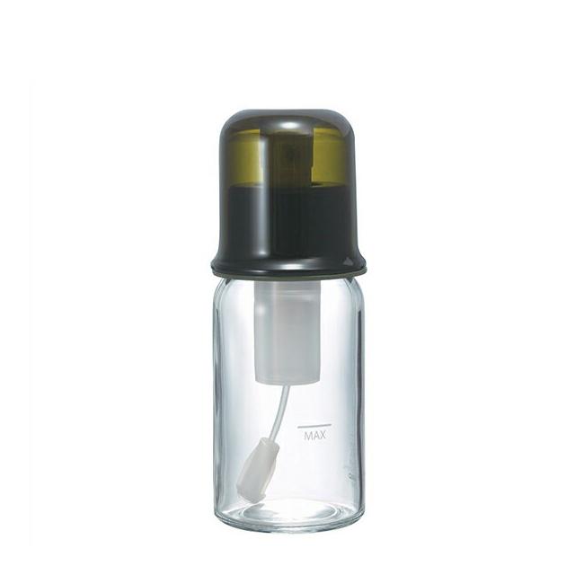 【送料無料】HARIO ハリオ オイルスプレー 透明オリーブグリーン 60ml (6個セット) (OS-60-TOG) [オイル ボトル オイルボトル キッチン レシピ付き]