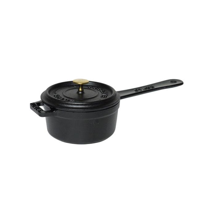 ストウブ ミニソースパン(ブラック) (6-0080-0601) [ストウブSTAUB][送料無料]