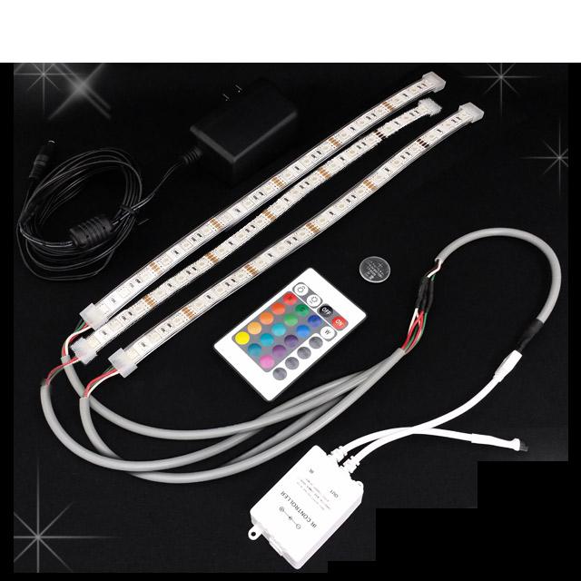 シャンパンタワー LEDライトセット 7段用 [55cm棒状LED×3本] (CT-LED-7) [シャンパンタワー用LEDライトセット][シャンパンタワーで華やかな演出][当店オリジナル]【送料無料】