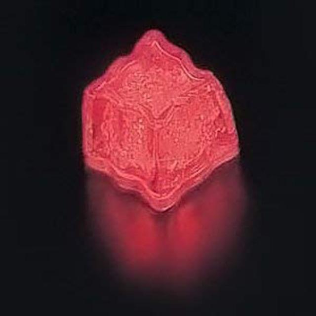ライトキューブ オリジナル レッド24個セット 標準輝度モデル (6-1582-0701) [水に触れたら光るライトチューブ][送料無料]