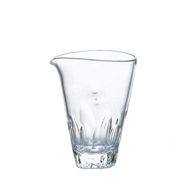 【送料無料】東洋佐々木ガラス 本格焼酎道楽 えくぼ 水割りカラフェ 375ml (24個 1ct) (P-33601-JAN-1ct) [日本製]