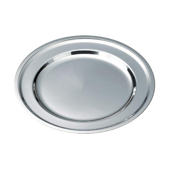 【送料無料】ステンレス丸皿 3枚セット30cm(92980980)料理演出
