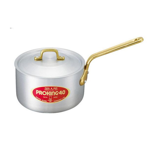 【送料無料】中尾アルミ プロキング PK-4 プロキング片手鍋 27cm アルミ製(5091743)(中尾アルミ製作所調理器具)