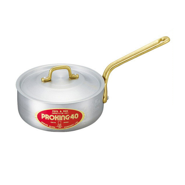 【送料無料】中尾アルミ プロキング PK-5 プロキング浅型片手鍋 21cm アルミ製 (5091781) [中尾アルミ製作所調理器具]