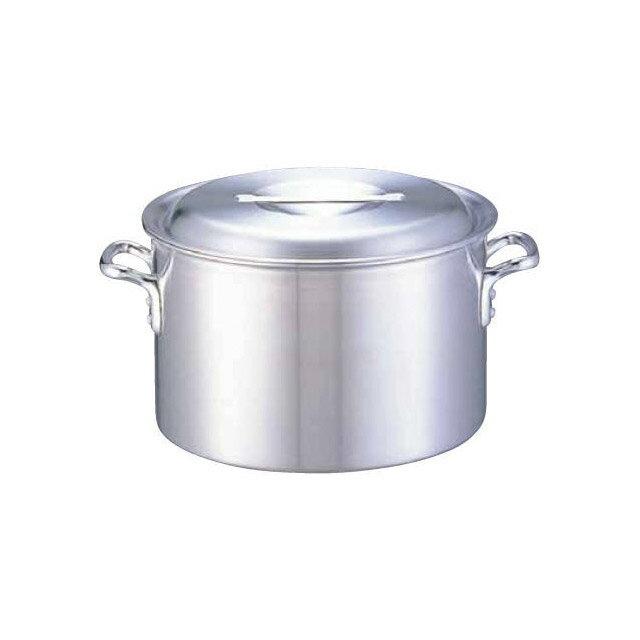 【送料無料】アルミDON 半寸胴鍋 30cm アカオアルミ(AHV13030)7-0033-0205 業務用