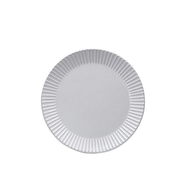 【送料無料】GOURMET Eccle エクレ26cmプレート6個セット(アッシュホワイト)(H03-077-276) [GOURMET][プレート皿]
