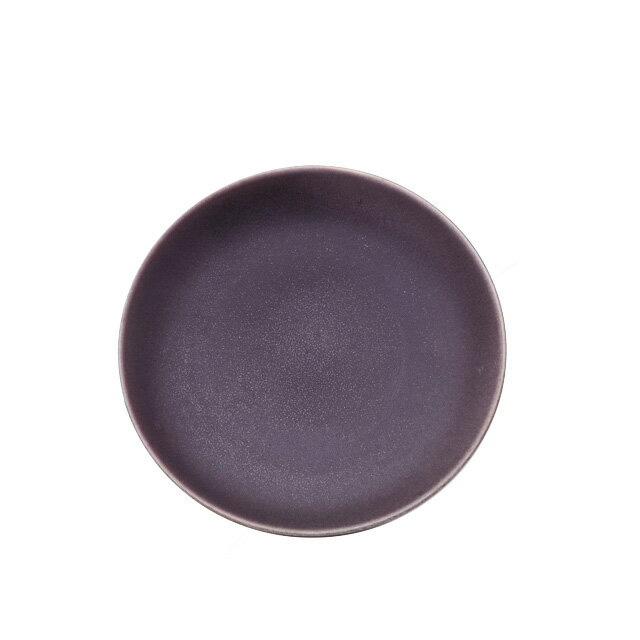 【送料無料】食器皿 26cmプレート(マットパープル)Graceグレイス 6個セット 日比野陶器(H03-084-233)(GOURMET)(プレート皿)