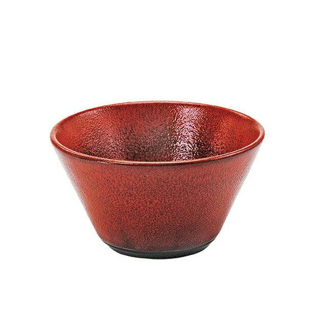 【送料無料】食器皿 12.5cmボール Richredリッチレッド 6個セット 日比野陶器(H15-040-285)(GOURMET)(ボール)
