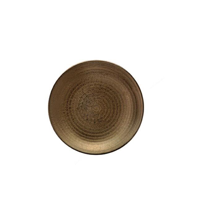食器皿 22cm皿 Kogane(和) 6個セット 日比野陶器 (H54-015-265) (GOURMET)(プレート皿)(送料無料)