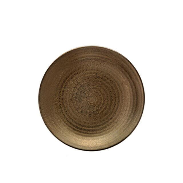 【送料無料】食器皿 25cm皿 Kogane(和)6個セット 日比野陶器(H54-016-265)(GOURMET)(プレート皿)