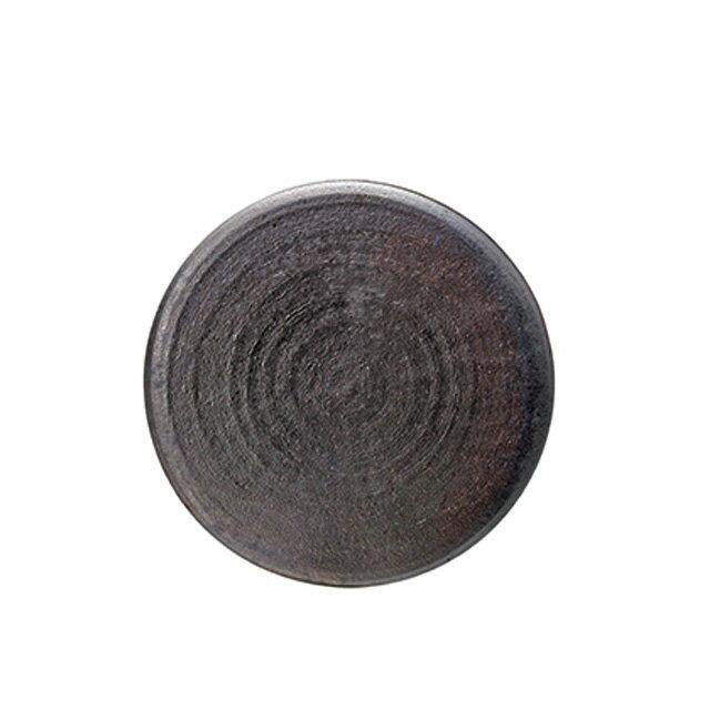 【送料無料】食器皿 28cmプレート ZEN(炭化)6個セット 日比野陶器(H55-009-276)(GOURMET)(プレート皿)