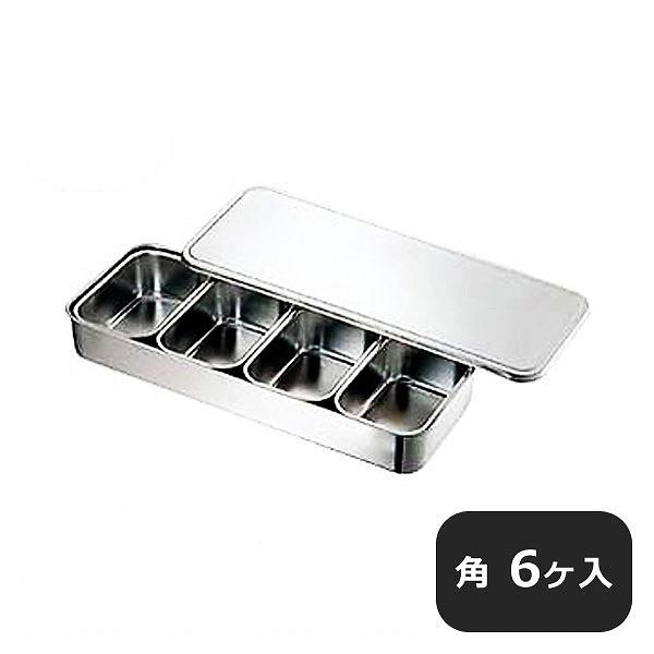 【送料無料】CLO 18-8大型プレスヤクミ入 角6ヶ入 (028049) [業務用 大量注文対応]