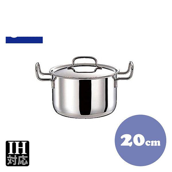 【送料無料】GEO ポトフ鍋 GEO-20PF 20cm(4.0L) (013043) [業務用 大量注文対応]