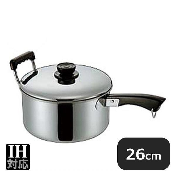 MA 18-0深型ソースパン 26cm (7.4L) (014022) (業務用)