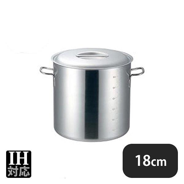 【送料無料】プロデンジ 寸胴鍋 目盛付 18cm(4.2L) (012165) [業務用][調理道具]