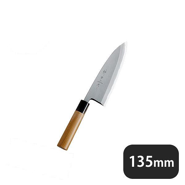 【送料無料】神田上作 出刃 135mm(129003)業務用 大量注文対応