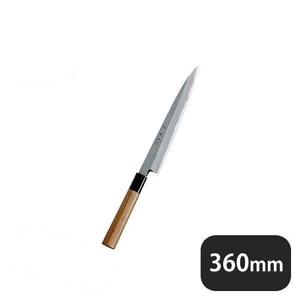 【送料無料】神田上作 柳刃 360mm(129017)業務用 大量注文対応