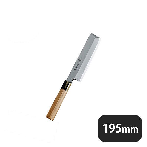 【送料無料】神田上作 薄刃 195mm (129021) [業務用 大量注文対応]