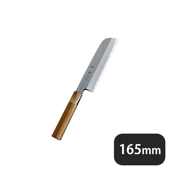 【送料無料】神田上作 鎌形薄刃 165mm (129026) [業務用 大量注文対応]
