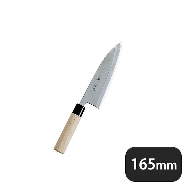 神田作PC桂柄 出刃 165mm (129057) (業務用)