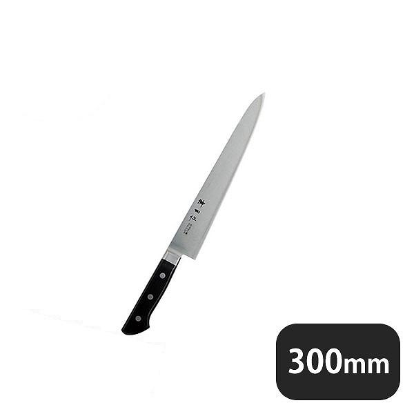 【送料無料】神田作 黒合板 筋引 300mm(129096)業務用