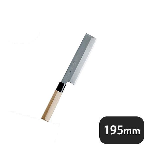 【送料無料】神田作PC桂柄 薄刃 195mm(129131)業務用