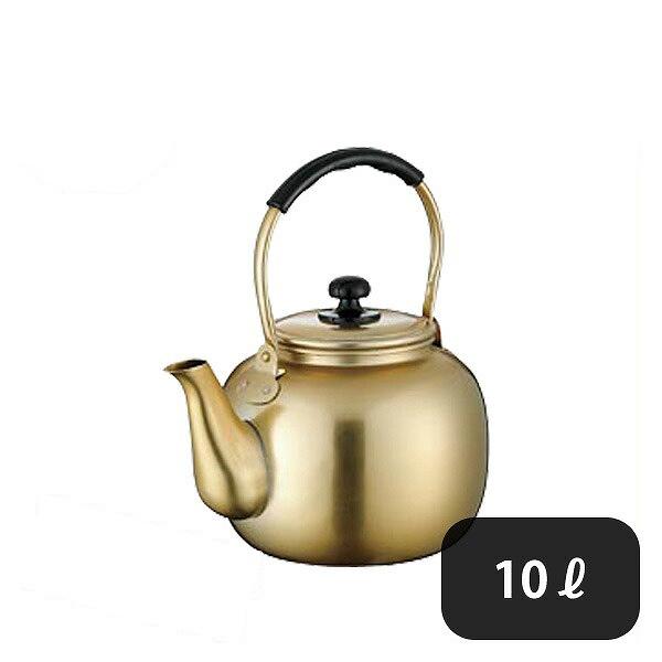 【送料無料】こづち アルマイト湯沸し 10L (064115) [業務用 大量注文対応]