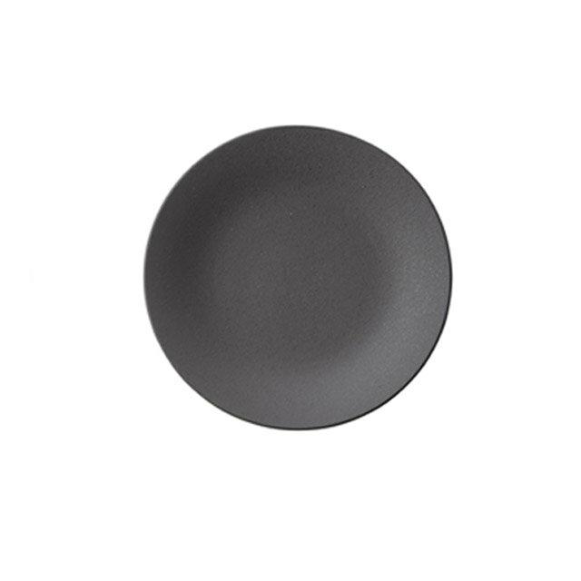 【送料無料】ディナー皿 27cm 黒曜 6枚 カネスズ カリタ(17350402)