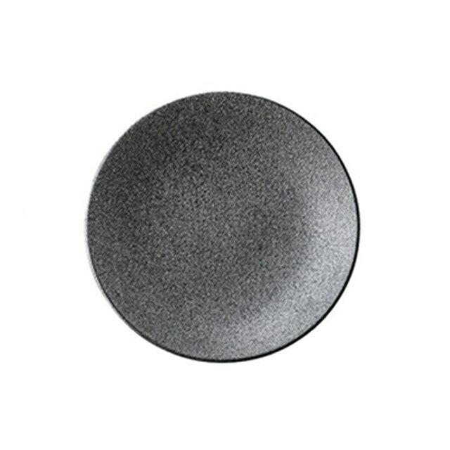 カネスズ ディナープレートカリタ30cmチョップ(銀鱗)(6枚セット) (12-17357411)