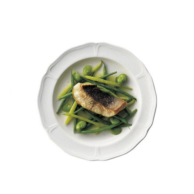 【送料無料】ディナー皿 27cm 6枚 カネスズ エレナ(300402)