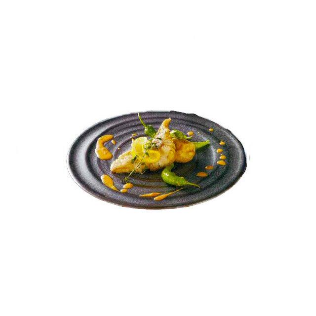 【送料無料】ディナー皿 27cm 悠玄 6枚 カネスズ 波紋(58272402)