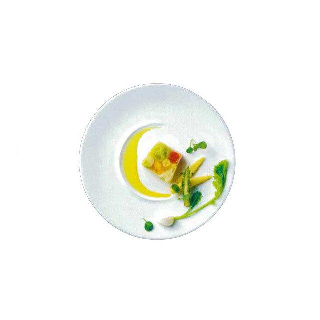 【送料無料】ディナー皿 27cm 6枚 カネスズ 三日月(67200402)