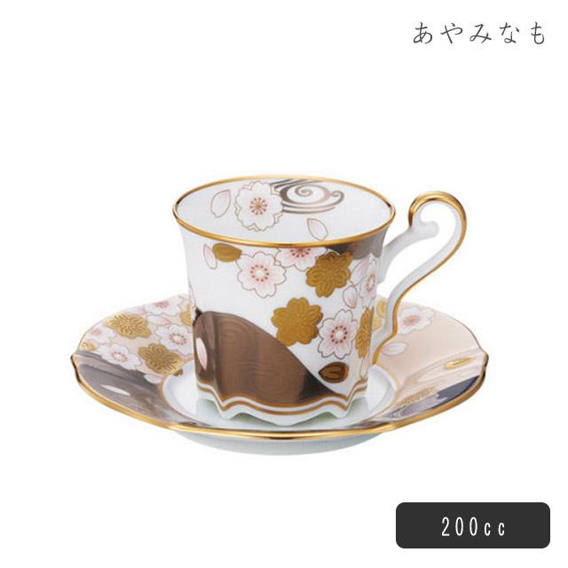 【送料無料】コーヒー碗皿 あやみなも 桜金銀彩 200cc ノリタケ(T52506/4939)Noritakeノリタケ