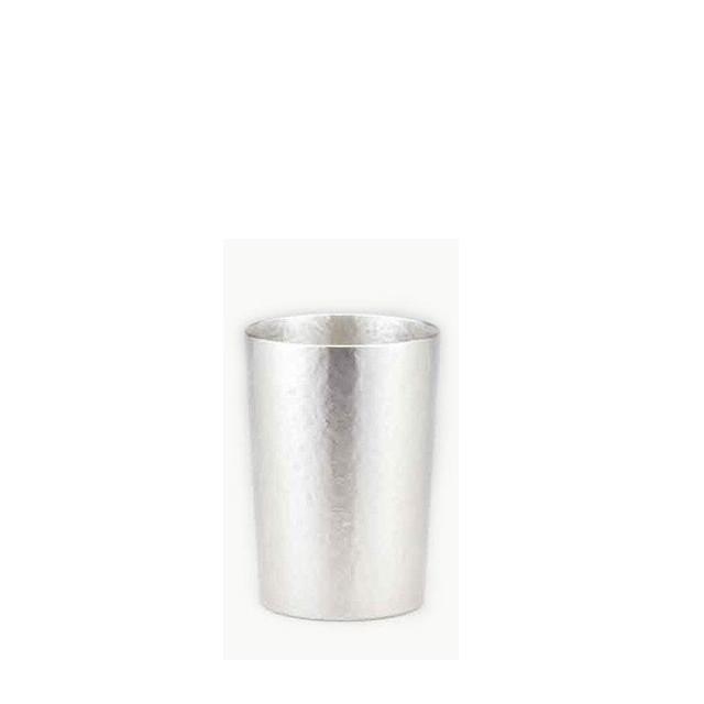 【送料無料】大阪錫器 シルキーシリーズ タンブラー ストレート(16-3-1)和風 迎春 ハンドメイド 伝統 工芸 日本製 ギフト