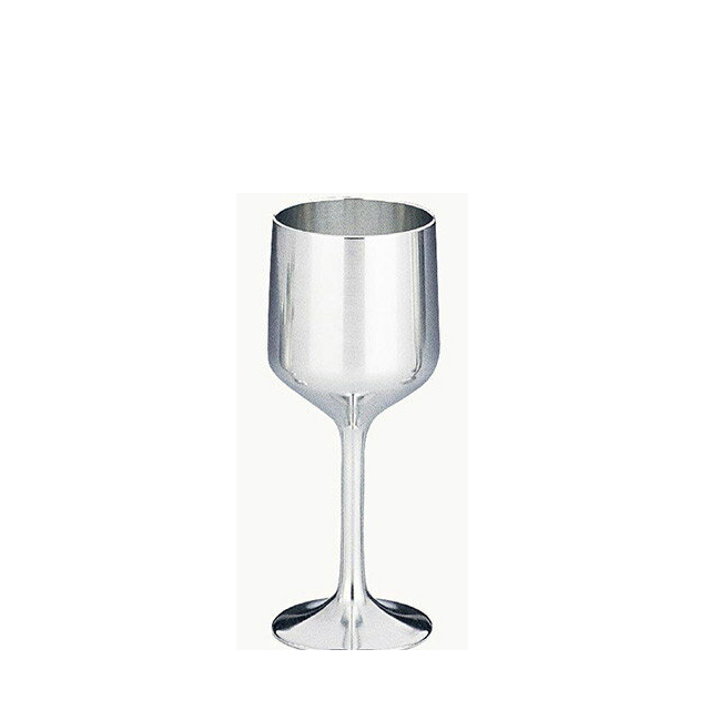 【送料無料】大阪錫器 ワインカップ S(18-3-1)和風 迎春 ハンドメイド 伝統 工芸 日本製 ギフト