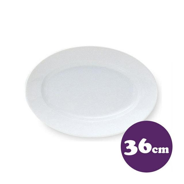 【送料無料】プラター 36cm 6枚 カネスズ エクシブ(00500446-6P)( 業務用 食器)