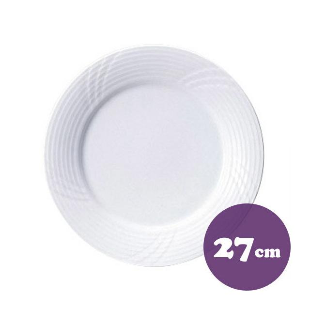 【送料無料】ディナー皿 27cm 6枚 カネスズ サンマルコ(20100402-6P)業務用
