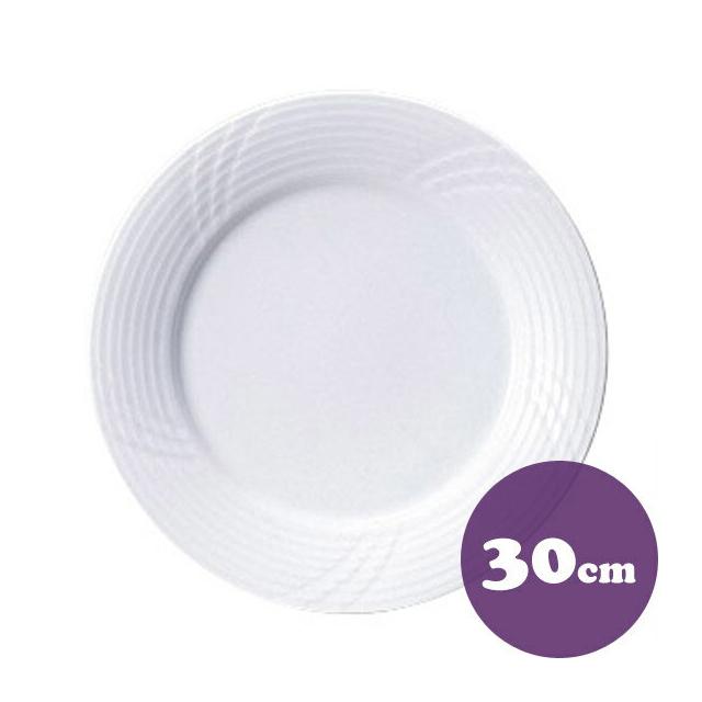 洋食器 業務用食器 送料込 送料無料 チョップ皿 出色 30cm 20100411-6P 至上 食器 業務用 6枚 カネスズ サンマルコ