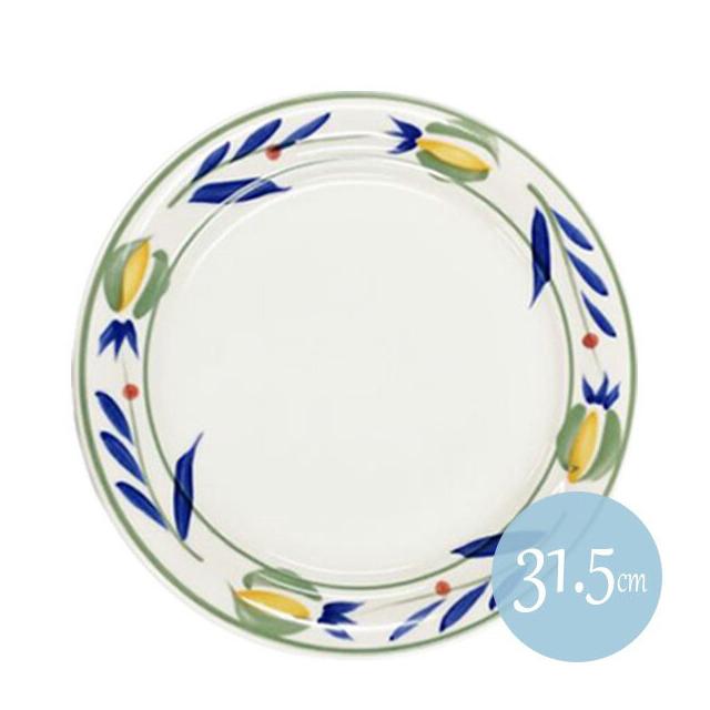 【送料無料】フィオーレ 31.5cm大皿 6枚セット KOYO コーヨー(13226001)(洋食器)業務用
