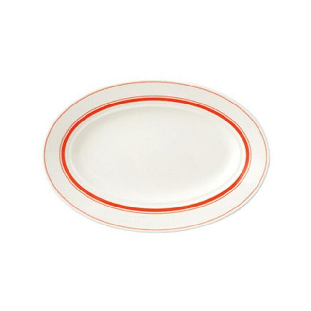 【送料無料】カントリーサイド 29cmプラター ソーバーオレンジ 6枚セット KOYO コーヨー(13425044)業務用(洋食器)(食器)