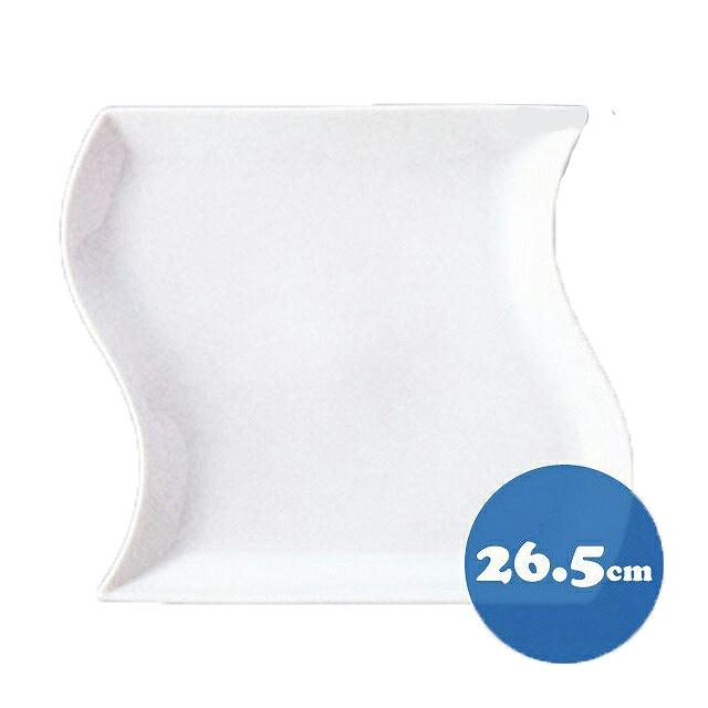 【送料無料】トルチェーレ 白磁 皿6枚セット26.5cm KOYO コーヨー(14500002)(洋食器)業務用
