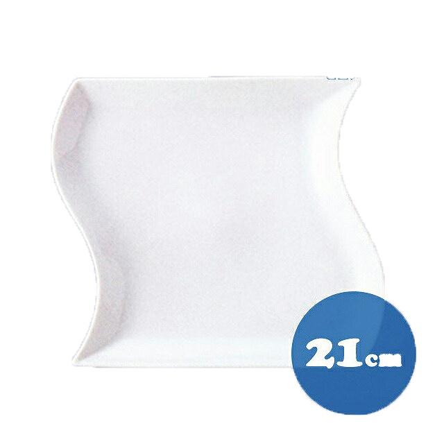 【送料無料】トルチェーレ 白磁 皿6枚セット21cm KOYO コーヨー(14500005)業務用