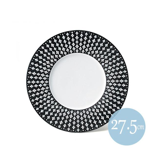 【送料無料】 クレスト 27.5cmリムプレート ブラック 6枚セット KOYO コーヨー(18034002)(プレート 皿)()業務用