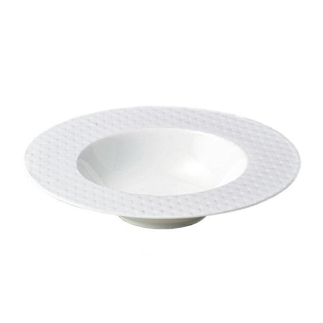 【送料無料】トレーセ 26.5cmディープスープボール ホワイト 6枚セット KOYO コーヨー(18000523)業務用(洋食器)(食器)